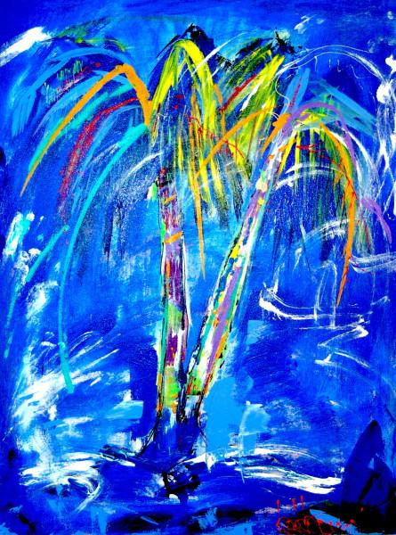 Palm Tree Abstract/PTD