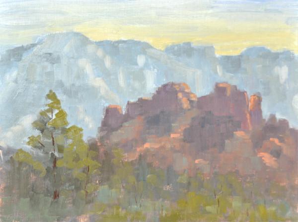 Sedona Sunrise - Plein Air