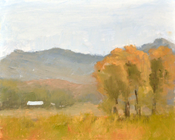 West of Steamboat - Plein Air