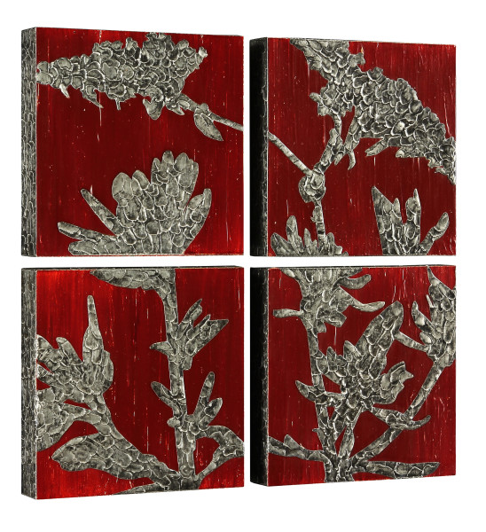 Autumn Buckwheat (4 panels)