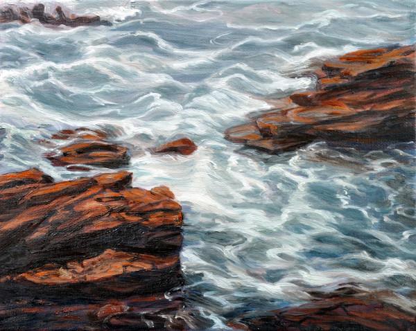 Maine Tides, Rocks