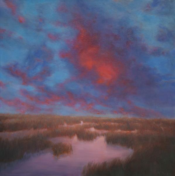 Marsh Dusk Glow