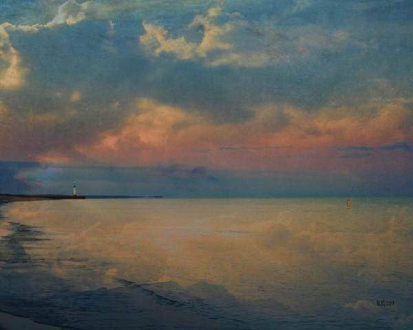 Sunrise on the Lake, After Turner