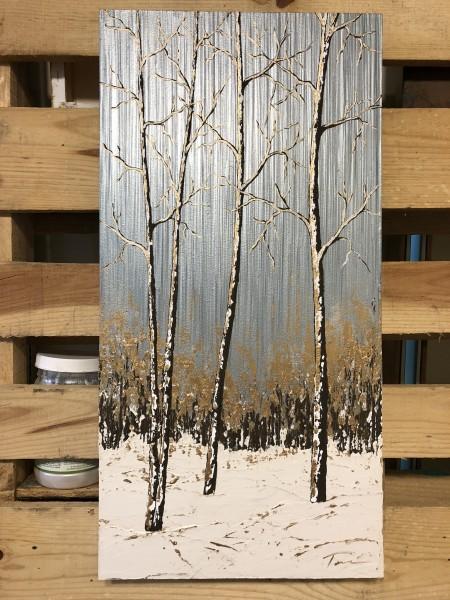 Aspens in the Snow #16CC