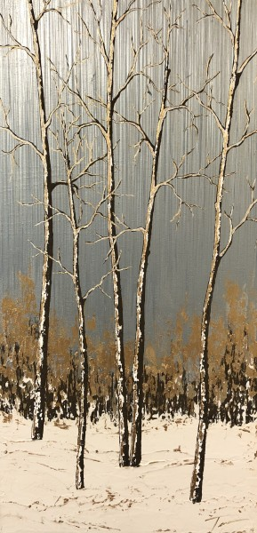 Aspens in the Snow #16