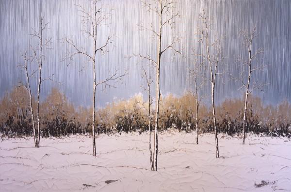 Aspens in the Snow #23