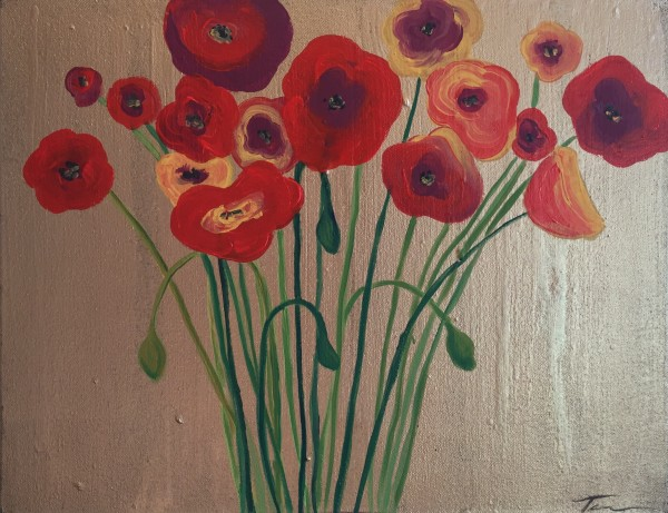 Poppies for Olga