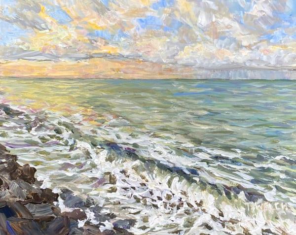 Sunrise at Gordon's Beach study