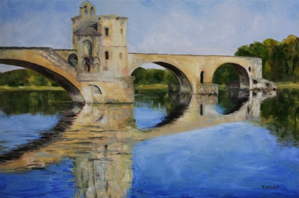 Morning by Pont d'Avignon