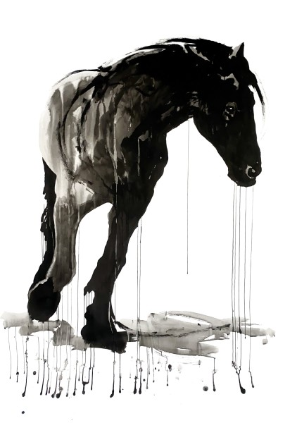 Horse study #9