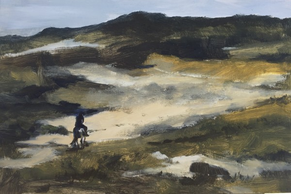 Riding in the dunes