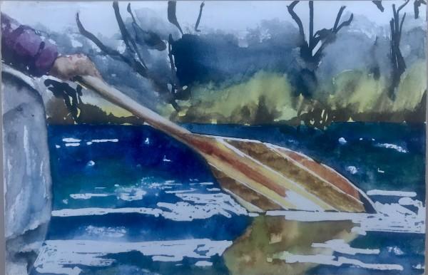 Paddle    Postcard
