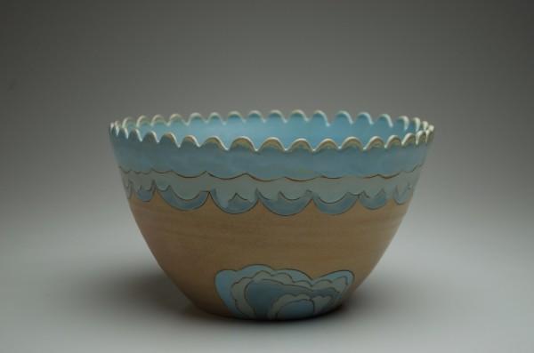 Wave Serving Bowl