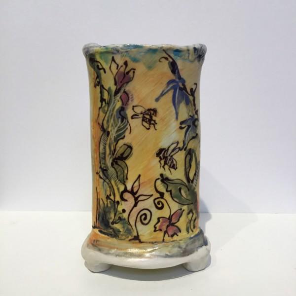 Bees & Plants Vase