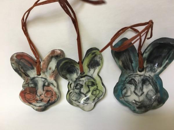 Luna Bunny Ornaments