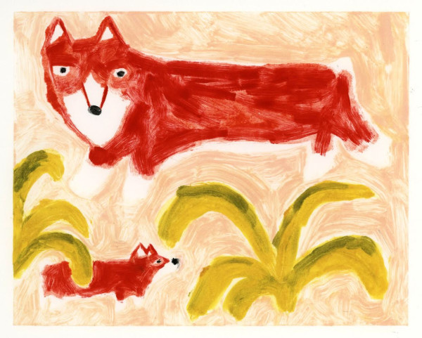 Two Red Corgis