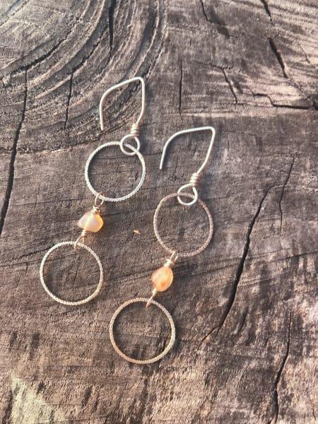 Dancing Agate Earrings