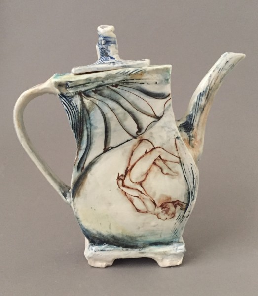 Aerial Pursuits Teapot