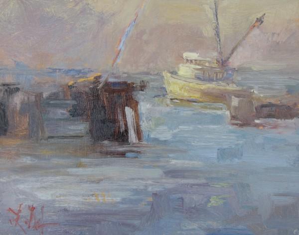 Last Light on the Docks, Monterey