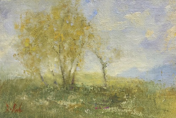 Little Trees in Springtime