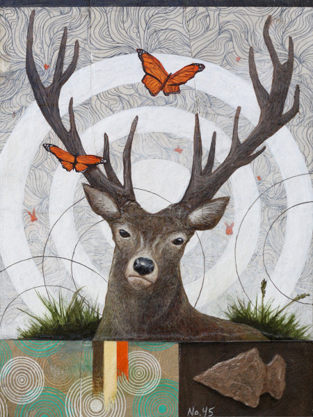 Deer - Loteria Card