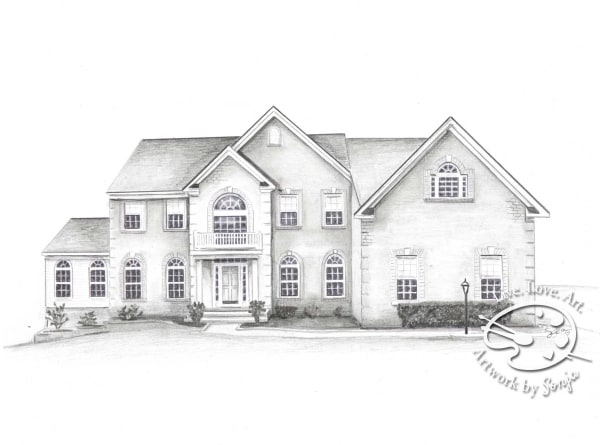 House Drawing Gift