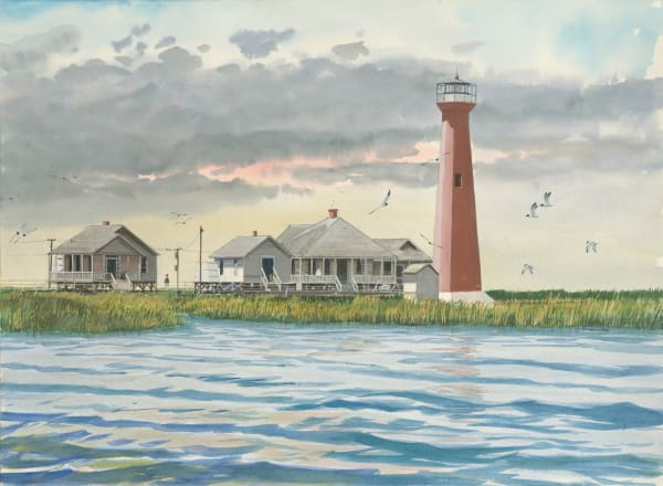 Aransas Pass Lighthouse (now Lydia Ann Channel Lighthouse)