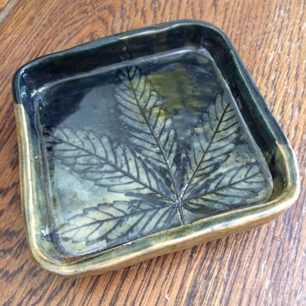 Square single leaf impression OG