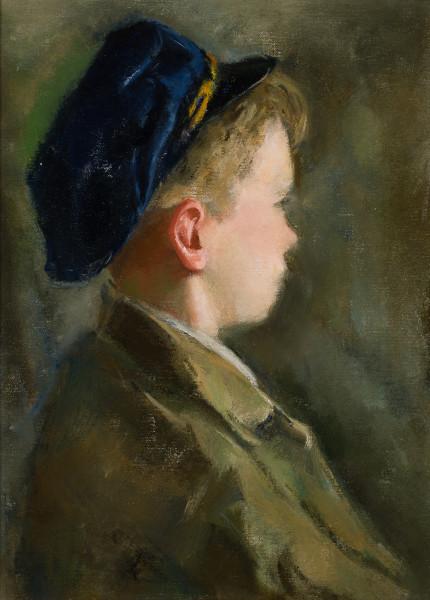 Boy in the Blue Cap