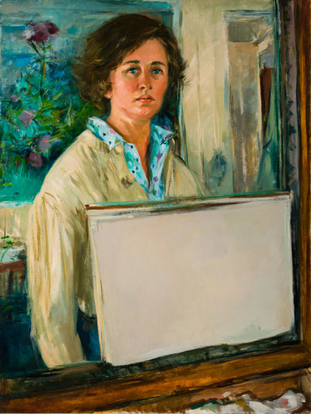 Miriam McClung Self Portrait