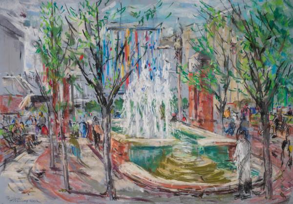 The Fountains at the UAB Callahan Eye Hospital