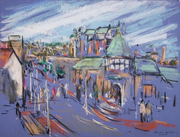 English Village Street Scene