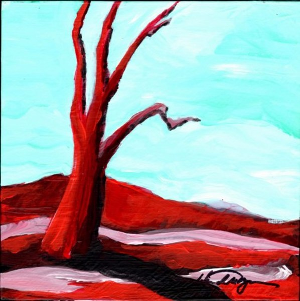 Red Tree Mini #11