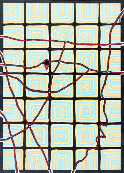 Five Seconds to Memorize the Map of Where You Live with a Pattern That Will Hide My Mistakes; Mary Rose Mendoza