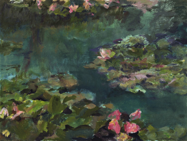 Monet's Nymphs