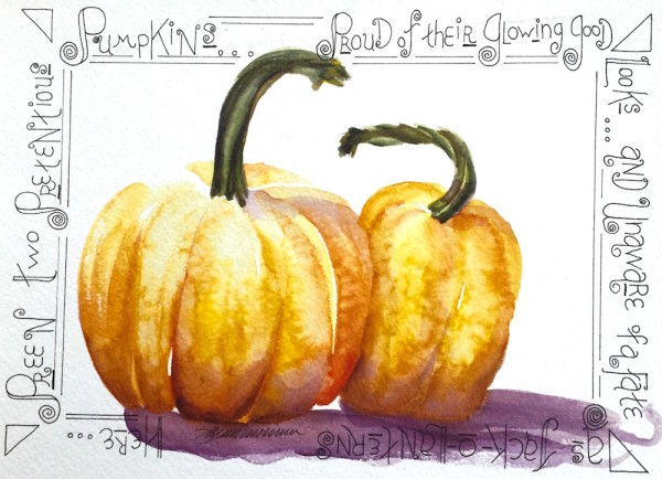 Pretentious Pumpkins, Maladjusted Vegetable Series