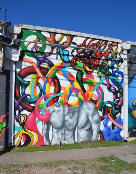 Mural festival HUE Houston 2016