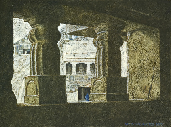 UNPOLISHED GEMS OF THE ORIENT: 'SACRED ENTRANCE'