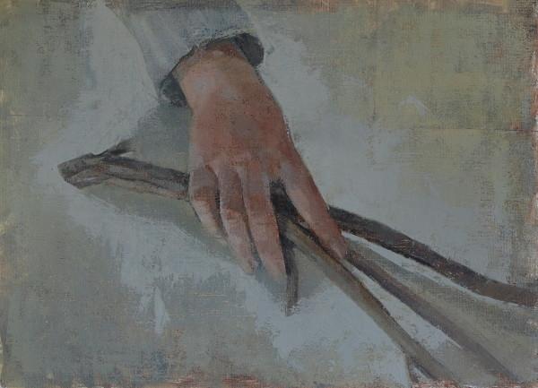 Hand and Twig Study