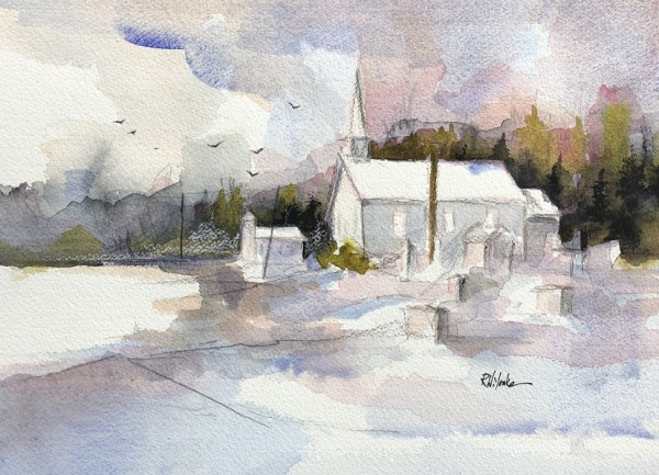 Winter Twin Churches