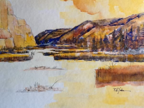 """""""On the Gallatin River"""""""