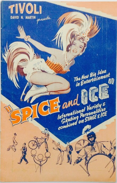 Spice and Ice Programme Tivoli 1950s