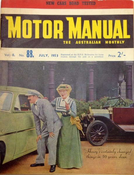 Motor manual 1953
