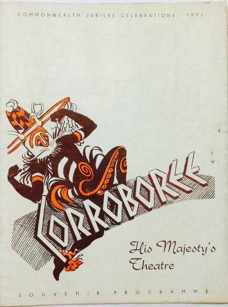 Corroboree Theatre Programme  1951