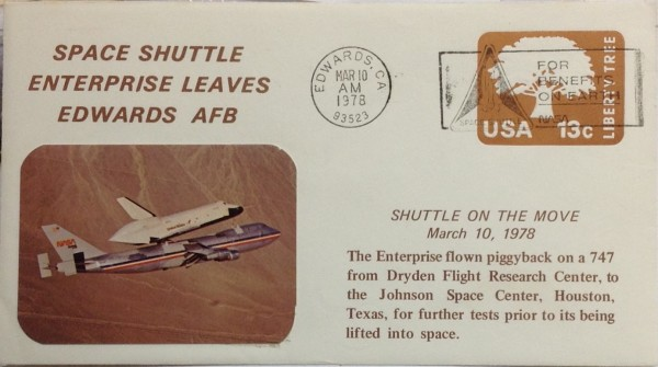 Space Shuttle Enterprise on the move