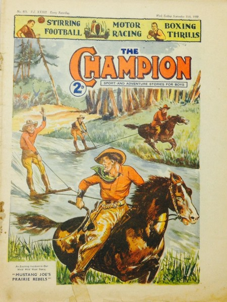 The Champion magazines 1937, 1944 & 1945 three in all