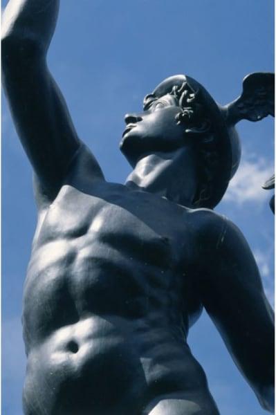 Mercury at Tuscany Plaza (Detail)