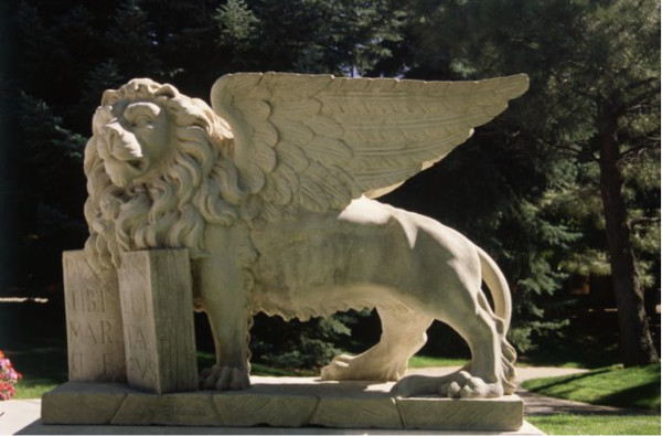 Winged Lion of St. Mark (Side View)