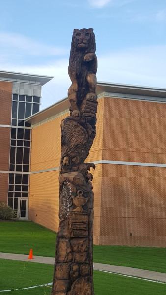 Slippery Rock University Tree Sculpture