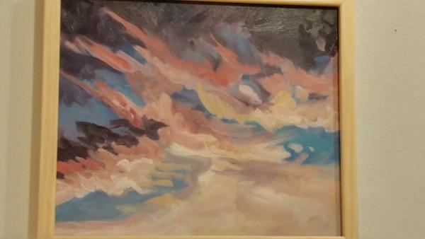 Cloud Study (sunset facing east)